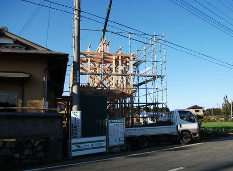「那珂市の家」が上棟しました!!_a0059217_9321331.jpg