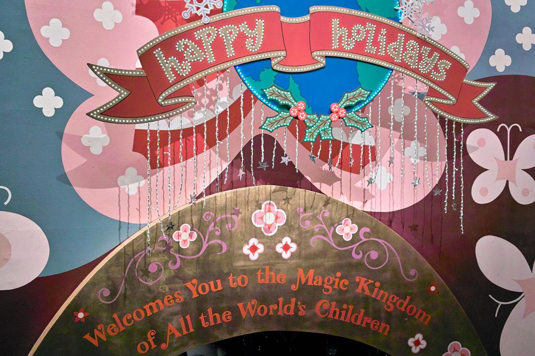 Tokyo Disney Land X'masFantasy2010③~it\'s a small world~_c0223825_2233724.jpg