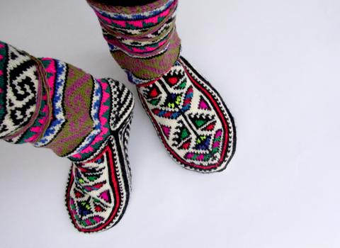おばあちゃんの靴下 ロングヴァージョン_d0156336_14364958.jpg