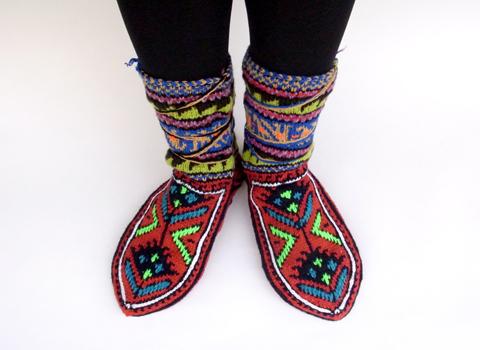 おばあちゃんの靴下 ロングヴァージョン_d0156336_14365654.jpg