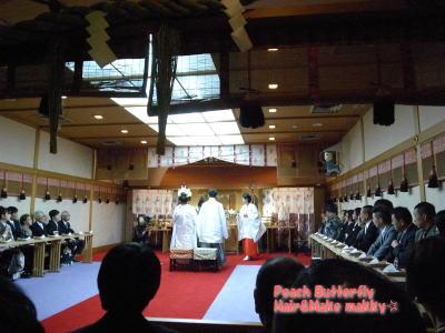 WEDDING列席~☆_c0043737_16375598.jpg