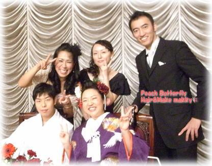 WEDDING列席~☆_c0043737_173439.jpg