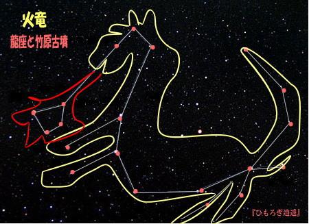 竹原古墳(2)日本の古墳に火を噴くドラゴンが何故描かれている?_c0222861_12583661.jpg