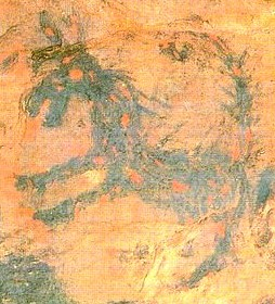 竹原古墳(2)日本の古墳に火を噴くドラゴンが何故描かれている?_c0222861_1342117.jpg