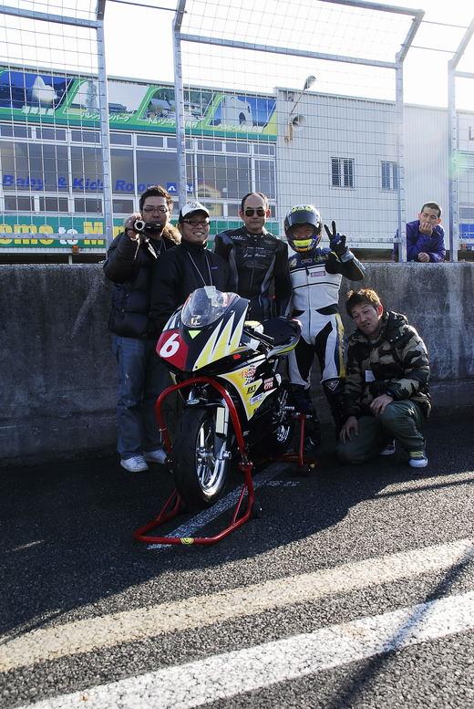 岡山国際 ミニバイク3時間耐久レース_b0163075_12114574.jpg