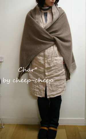 今日の CHAR* スタイル    と、 ちょこっと_a0162603_1764145.jpg