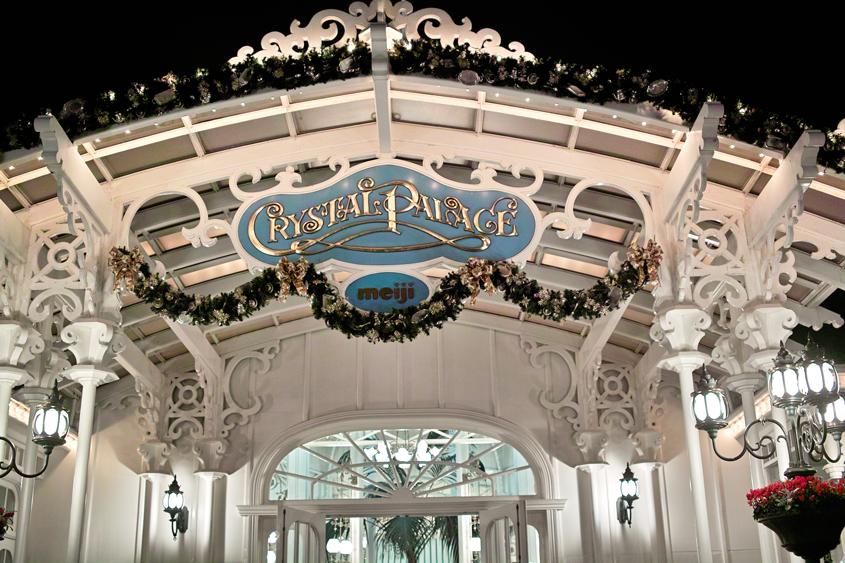ディズニーランドのディナータイム~ Crystal Palace のクリスマス スペシャルブッフェ~_c0223825_182083.jpg
