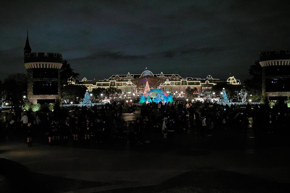 ディズニーランドのディナータイム~ Crystal Palace のクリスマス スペシャルブッフェ~_c0223825_2283958.jpg