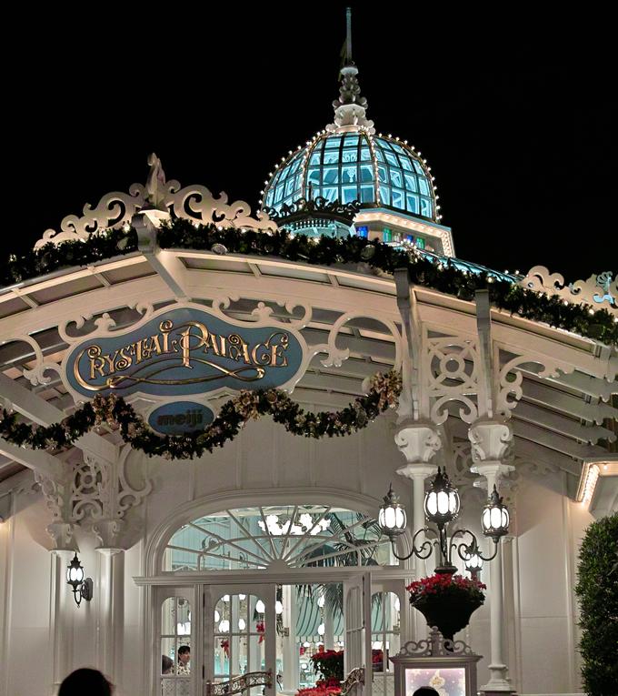ディズニーランドのディナータイム~ Crystal Palace のクリスマス スペシャルブッフェ~_c0223825_284937.jpg