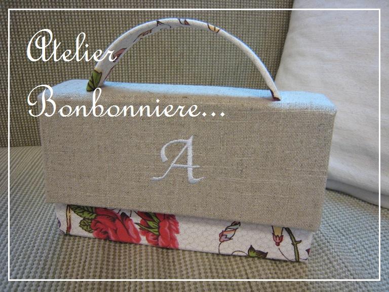 リボンボックス バッグ型の箱 ディスプレイボックス_f0199750_19253121.jpg