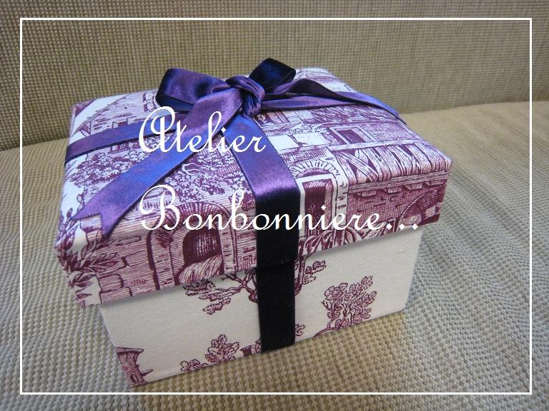 リボンボックス バッグ型の箱 ディスプレイボックス_f0199750_19264326.jpg
