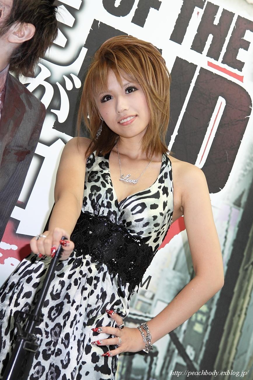 SEGA『龍が如く』ブース 水嶋えりかさん_c0215885_2163486.jpg