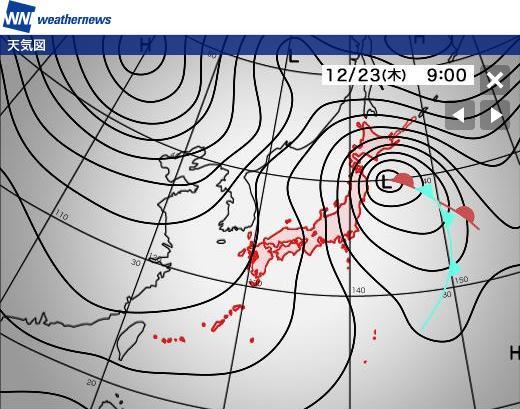 2010年12月22日(水):そろそろ嵐がやってくる?_e0062415_19194650.jpg