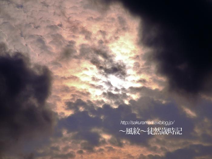 梅雨の合間に見せた一刻の夕暮れ。_f0235723_1554054.jpg