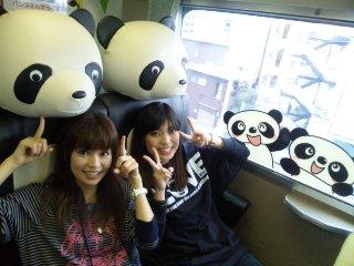 パンダ列車?!_b0174553_12413160.jpg