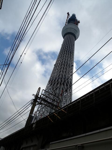 業平橋駅から見た東京スカイツリー_e0089232_7281074.jpg