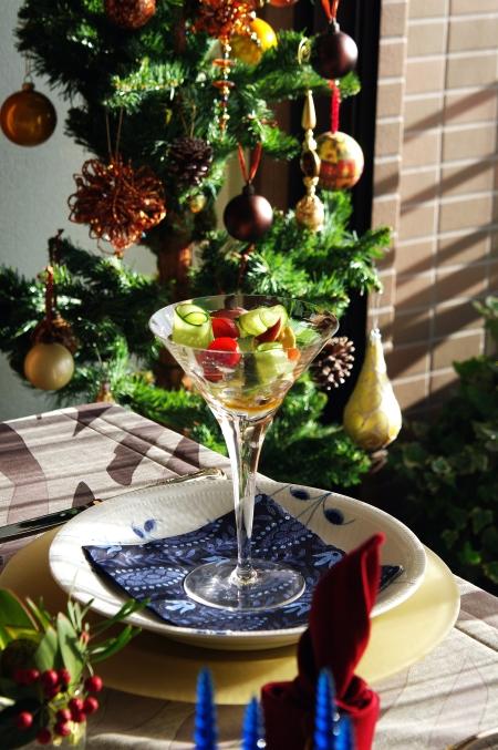 クリスマスのテーブルコーディネート 今年のテーマは「北欧」♪_d0145934_15255139.jpg