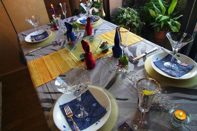 クリスマスのテーブルコーディネート 今年のテーマは「北欧」♪_d0145934_152610100.jpg
