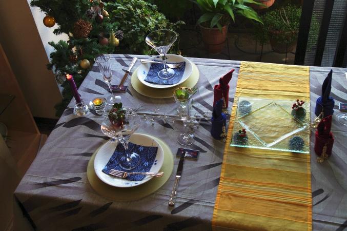 クリスマスのテーブルコーディネート 今年のテーマは「北欧」♪_d0145934_1526339.jpg