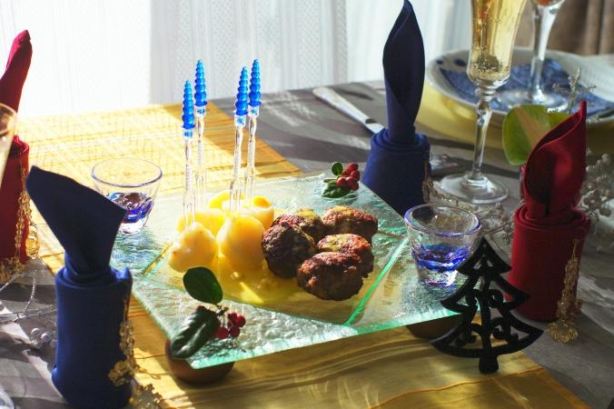 クリスマスのテーブルコーディネート 今年のテーマは「北欧」♪_d0145934_15265350.jpg