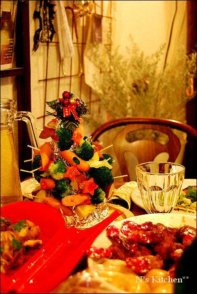 持ち寄り de クリスマスparty _a0105872_0334373.jpg