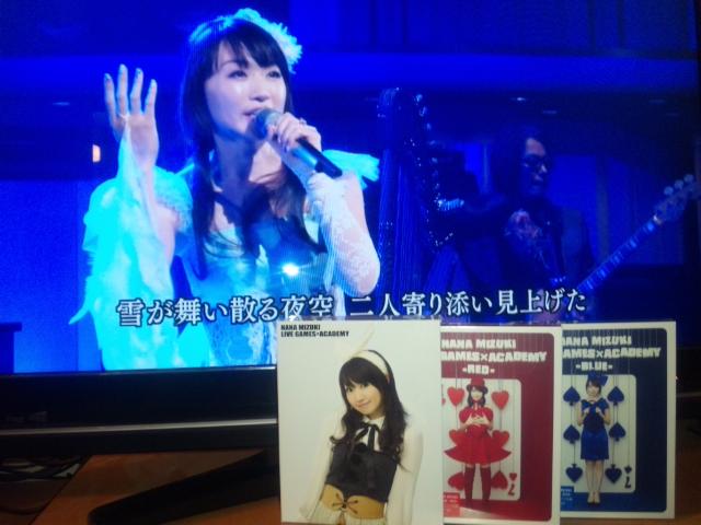 LIVE BD「NANA MIZUKI LIVE GAMES×ACADEMY」REDとBLUE_e0087699_22523970.jpg