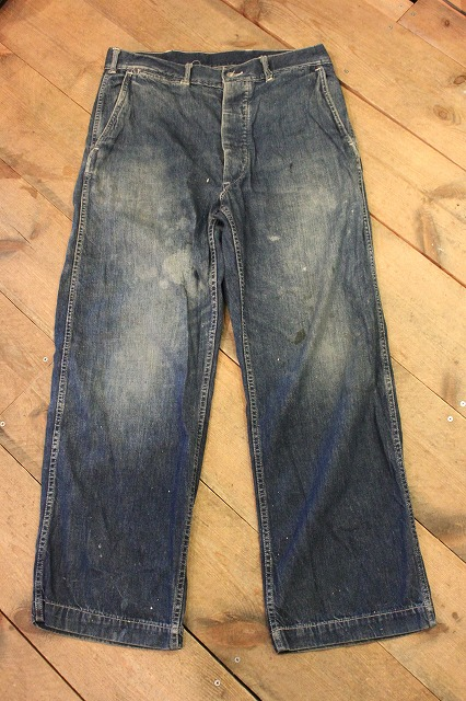 30's US ARMY DENIM PANTS_d0121303_13193632.jpg