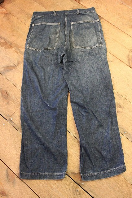 30's US ARMY DENIM PANTS_d0121303_13195726.jpg