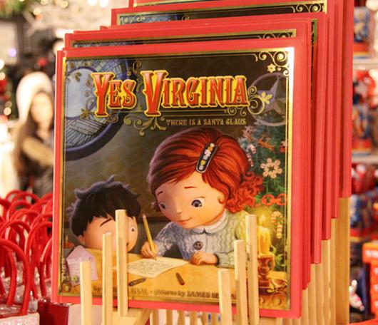 Yes, Virginia, there is a Santa Claus.(バージニアちゃん、サンタクロースはいるんだよ)_b0007805_1381065.jpg