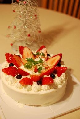 手作りクリスマス・ケーキ_a0175348_20534491.jpg