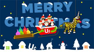 ユニコーンからクリスマスプレゼント♪_b0046357_22362635.jpg