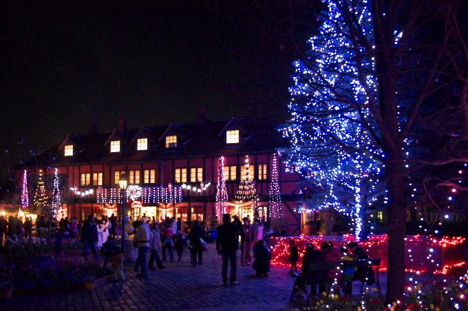 クリスマスイルミネーションの撮影_c0168669_1057462.jpg
