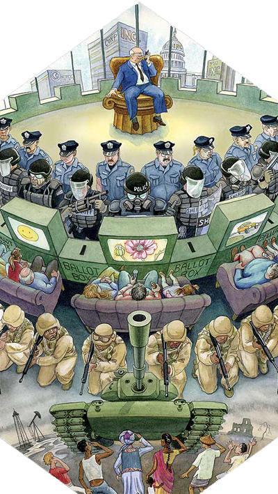 凶暴な連中が戦争や原発に抗議する国民に「共謀罪」だとさ_c0139575_21194872.jpg