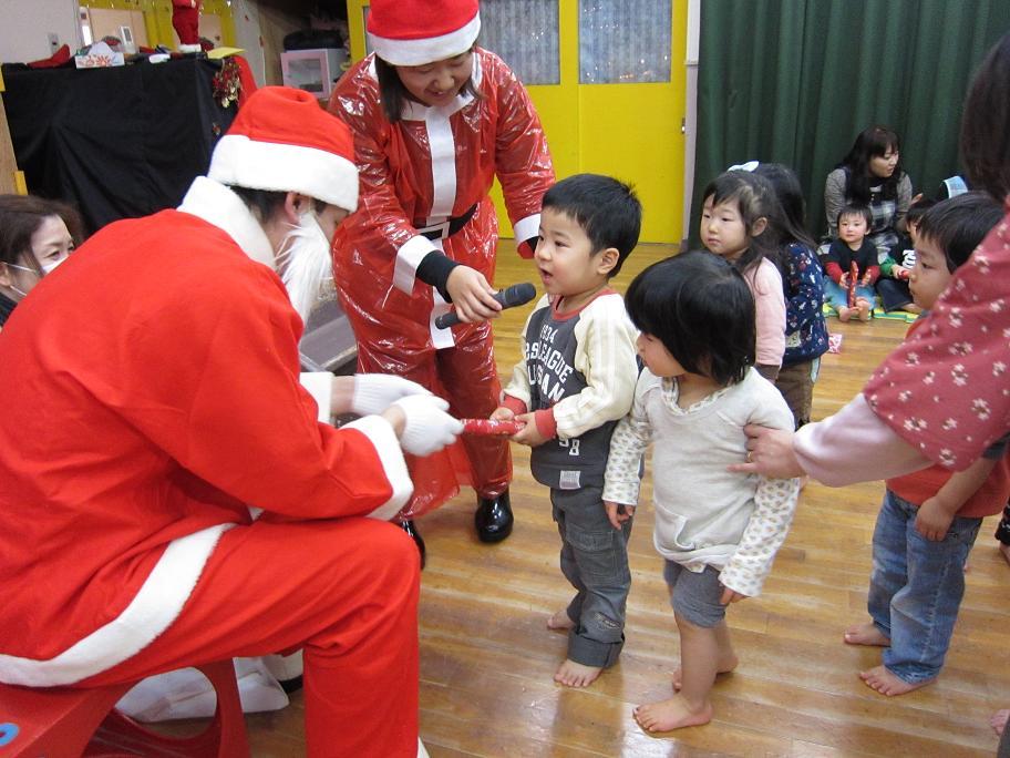 クリスマス会★★_f0195982_1893939.jpg