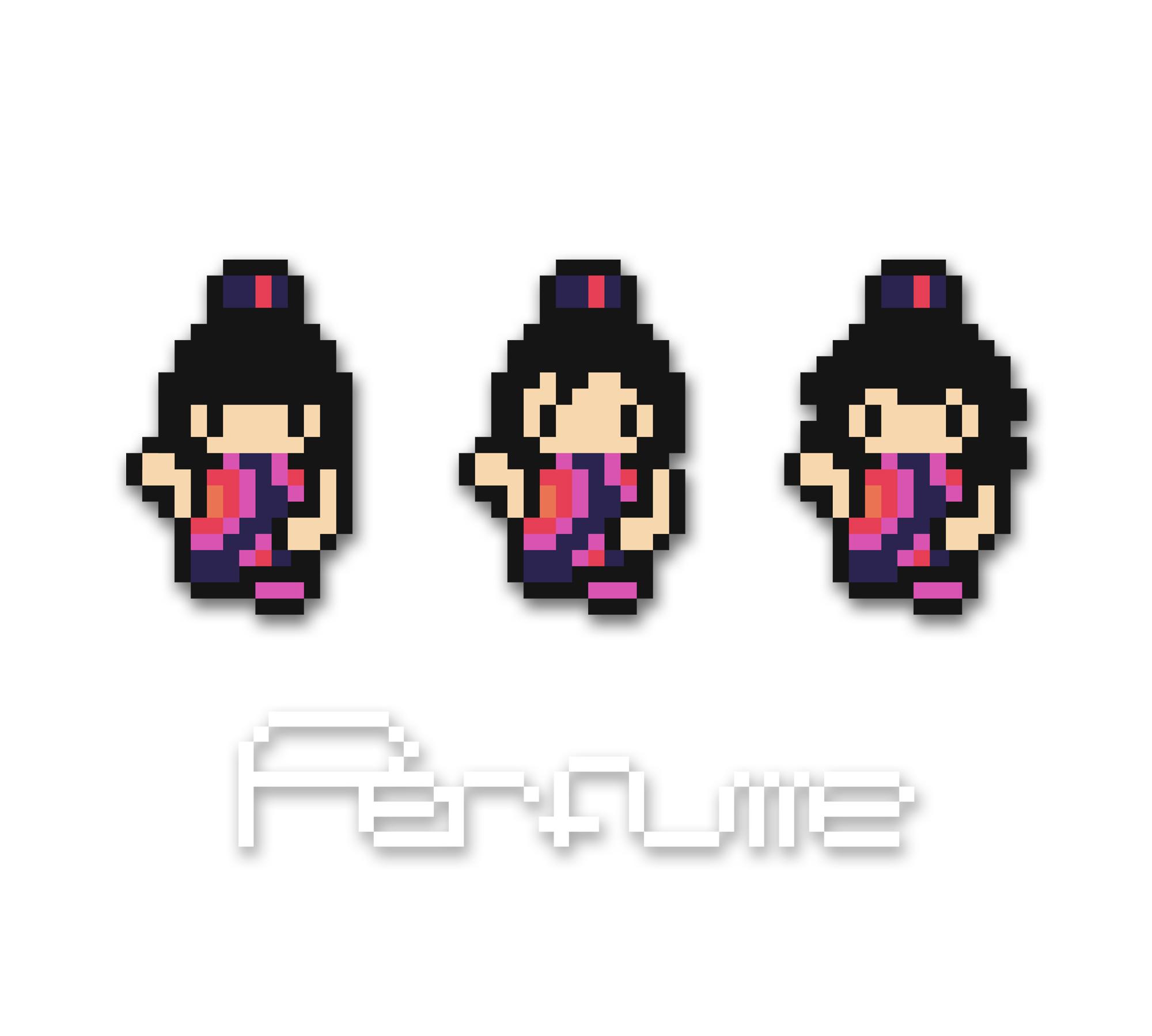 ドット絵Perfume