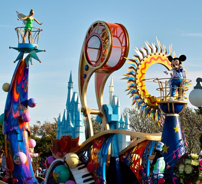 東京ディズニーランドのディパレード~ジュビレーション!その2~_c0223825_1503338.jpg