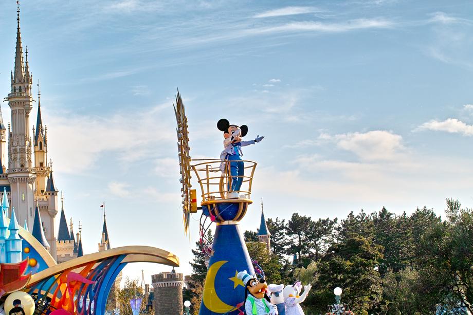 東京ディズニーランドのディパレード~ジュビレーション!その2~_c0223825_1585715.jpg