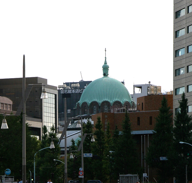 御茶の水  ニコライ堂 井上眼科医院 漱石_e0127948_2236573.jpg