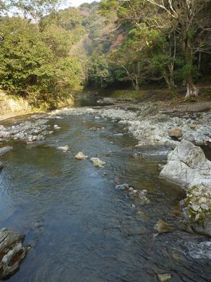 穂掛神社 にぎはやひの降臨した笠置山の麓 美しい渓流に聖地はあった_c0222861_18535032.jpg