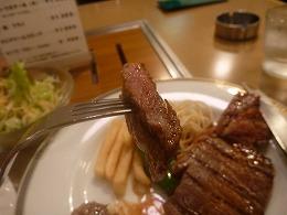 平野町 スエヒロ / ステーキ_e0209787_13321915.jpg
