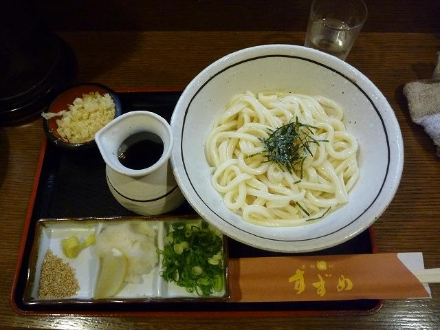 讃岐麺房 すずめ / うどん_e0209787_15543618.jpg