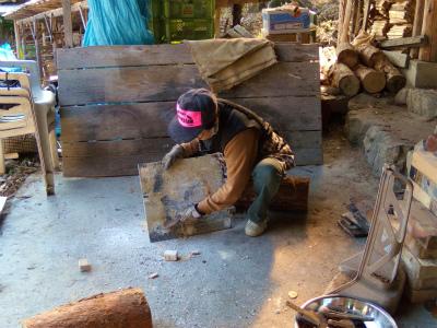 登り窯の窯出し_d0177600_17364665.jpg