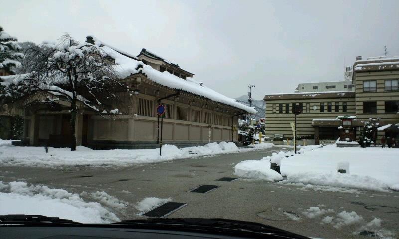 山中温泉 雪のぐあい_d0093903_18255091.jpg