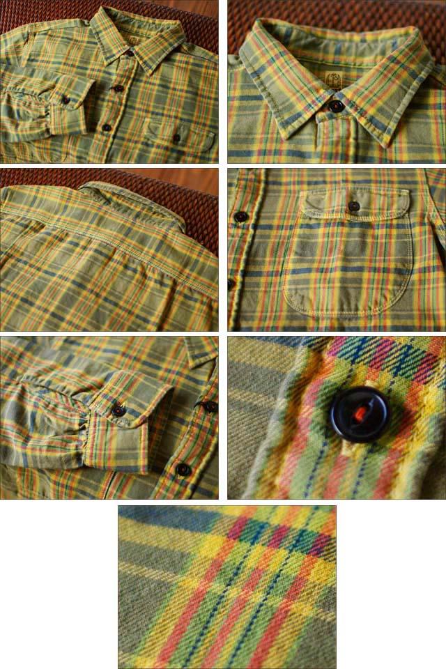 KATO\'DENIM [カトーデニム] CHECK FLANNEL SHIRTS [チェックネルシャツ]ワーク シャツ [S-07218] MEN\'S _f0051306_15423594.jpg