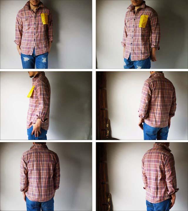 KATO\'DENIM [カトーデニム] CHECK FLANNEL SHIRTS [チェックネルシャツ]ワーク シャツ [S-07160] MEN\'S _f0051306_15461090.jpg