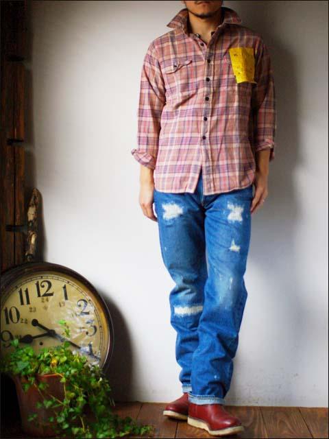 KATO\'DENIM [カトーデニム] CHECK FLANNEL SHIRTS [チェックネルシャツ]ワーク シャツ [S-07160] MEN\'S _f0051306_15461224.jpg