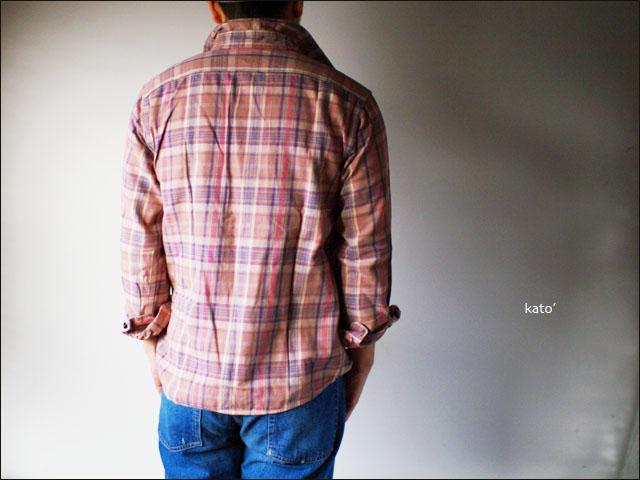 KATO\'DENIM [カトーデニム] CHECK FLANNEL SHIRTS [チェックネルシャツ]ワーク シャツ [S-07160] MEN\'S _f0051306_1546996.jpg