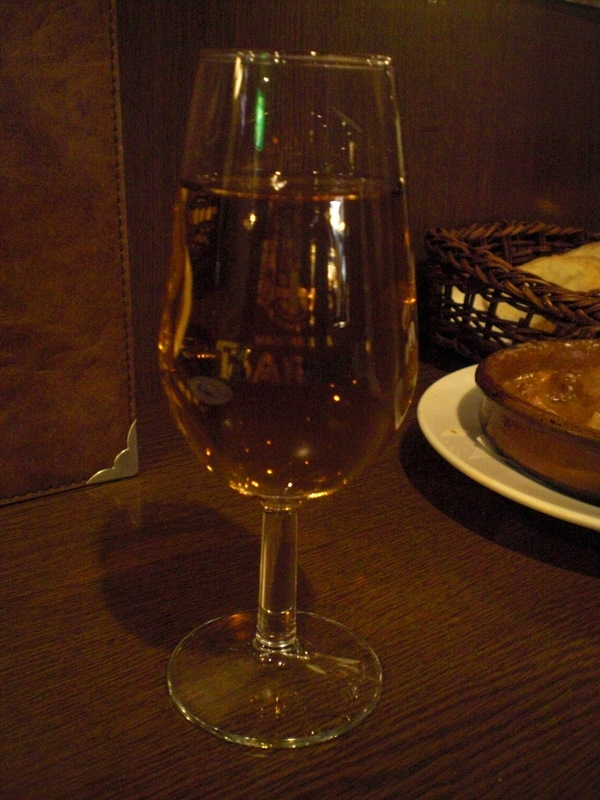 モツ煮とシェリーで軽く一杯@Bar Rabano[久屋大通/名古屋]_c0013687_22513547.jpg