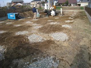 「和田の家」平板載荷試験_b0179213_18295272.jpg
