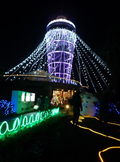 江ノ島展望灯台ライトアップ~江ノ島ファンタジー_e0174913_1513093.jpg